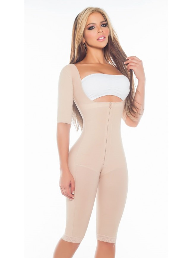 LIPOSCULPTURE GIRDLE WITH SLEEVES