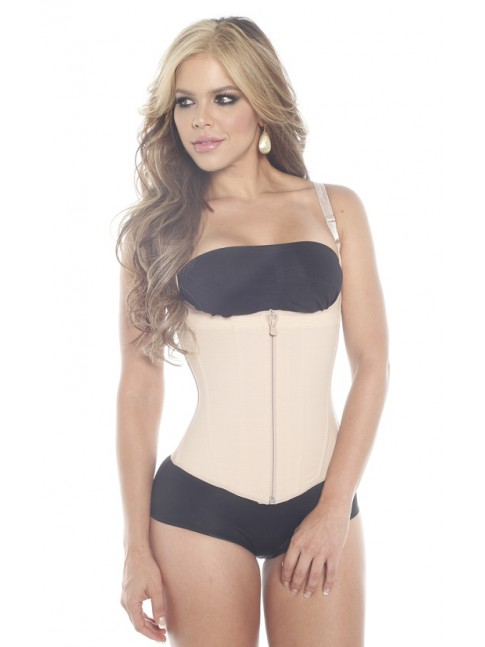 VEST WITH REMOVABLE STRIPS